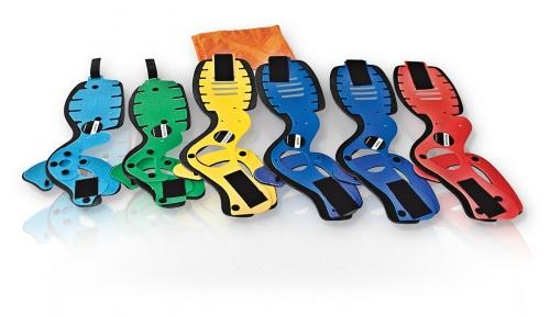 Halskrausen in sechs Größen mit Tasche